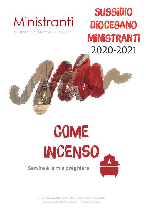 Online il Sussidio Ministranti 2020-2021