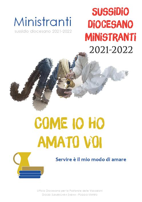 Online il Sussidio Ministranti 2021-2022